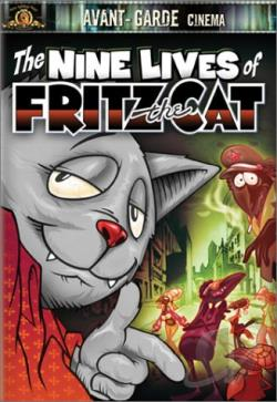Nine Lives of Fritz the Cat DVD Cover Art