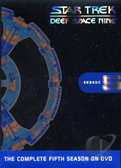 Star Trek - Deep Space Nine - The Complete Fifth Season DVD Cover Art