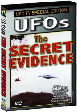 UFOs: The Secret Evidence DVD Cover Art