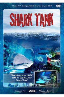 Plasma Art: Shark Tank DVD Cover Art