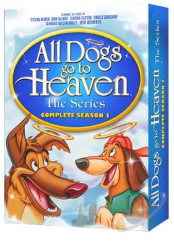 All Dogs Go to Heaven - The Series - The Complete Season 1 DVD Cover Art