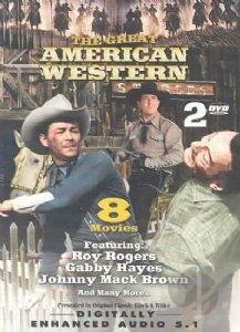 Great American Western 15 DVD Cover Art