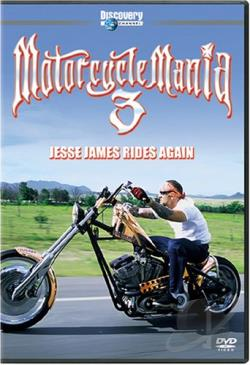 Motorcycle Mania 3: Jesse James Rides Again DVD Cover Art