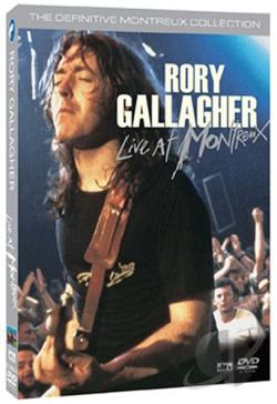 Rory Gallagher - Live at Montreux DVD Cover Art