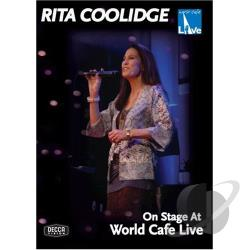 Rita Coolidge - On Stage At World Cafe Live DVD Cover Art