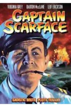 Captain Scarface DVD Cover Art