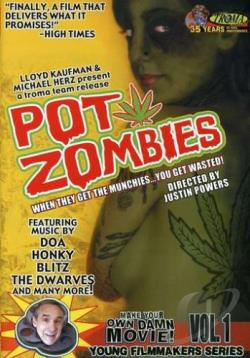 Pot Zombies DVD Cover Art