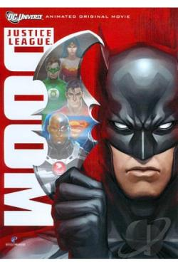 Justice League: Doom DVD Cover Art