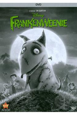 Frankenweenie DVD Cover Art