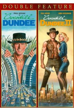 Crocodile Dundee Double Feature DVD Cover Art