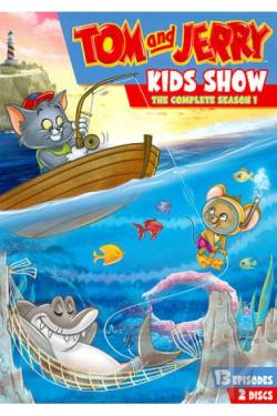 Tom and Jerry Kids Show - The Complete First Season DVD Cover Art