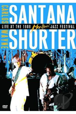 Carlos Santana & Wayne Shorter - Live at the Montreaux Jazz Festival DVD Cover Art