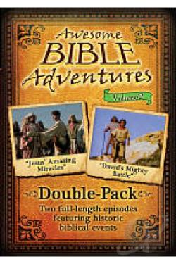 Awesome Bible Adventures, Vol. 2: Jesus Amazing Miracles/David's Mighty Battle DVD Cover Art