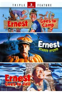 Ernest Goes to Camp/Ernest Scared Stupid/Ernest Goes to Jail DVD Cover Art