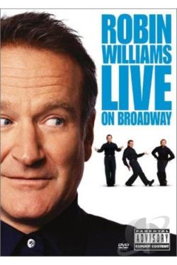 Robin Williams - Live On Broadway DVD Cover Art