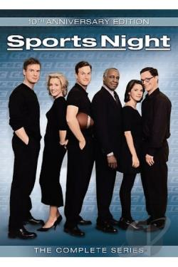 Sports Night - The Complete Series DVD Cover Art