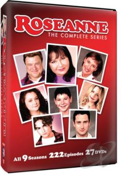 Roseanne - The Complete Series DVD Cover Art