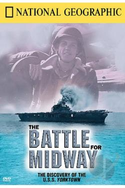 National Geographic - The Battle For Midway DVD Cover Art