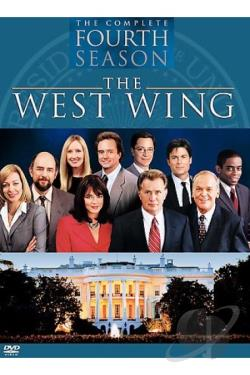 West Wing - The Complete Fourth Season DVD Cover Art