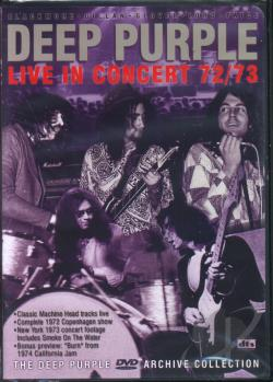 Deep Purple - Scandinavian Nights DVD Cover Art