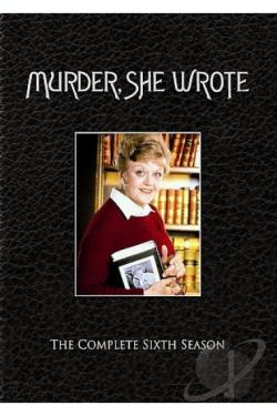Murder She Wrote - The Complete Sixth Season DVD Cover Art