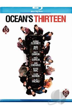 Ocean's Thirteen BRAY Cover Art