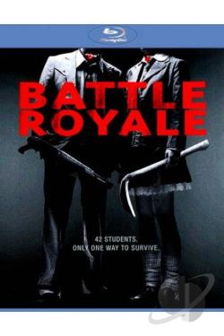 Battle Royale BRAY Cover Art
