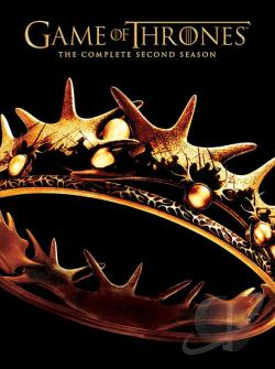 Game Of Thrones - The Complete Second Season DVD Cover Art