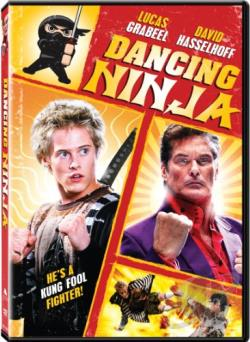 Dancing Ninja DVD Cover Art