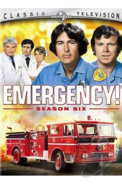 Emergency! - The Complete Sixth Season DVD Cover Art