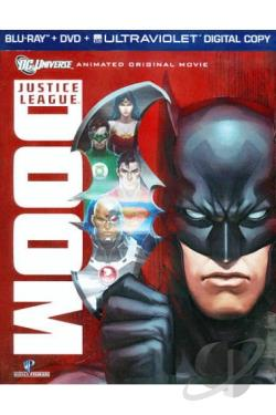 Justice League: Doom BRAY Cover Art