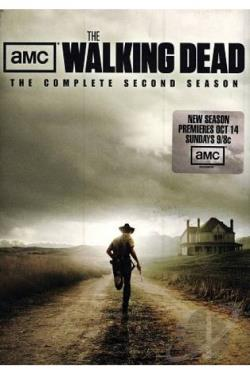 Walking Dead - The Complete Second Season DVD Cover Art