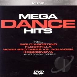 Mega Dance Hits DVD Cover Art