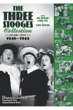 Three Stooges Collection - Vol. 3: 1940 - 1942 DVD Cover Art