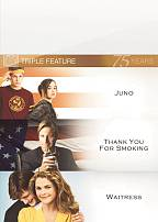 Juno/Thank You For Smoking/Waitress DVD Cover Art