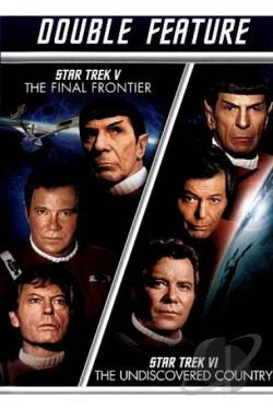 Star Trek V: The Final Frontier/Star Trek VI: The Undiscovered Country DVD Cover Art