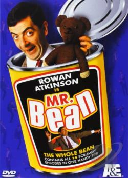 Mr. Bean - The Complete Mr. Bean DVD Cover Art