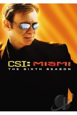 CSI: Miami - The Complete Sixth Season DVD Cover Art
