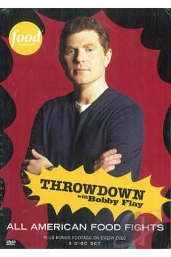 Throwdown with bobby flay all american food fights dvd movie for American cuisine dvd
