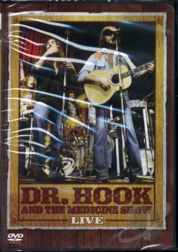 Dr. Hook and the Medicine Show - Live DVD Cover Art