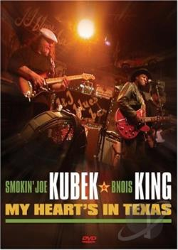Smokin' Joe Kubek & Bnois King - My Heart's in Texas DVD Cover Art