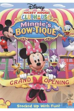 Mickey Mouse Clubhouse: Minnie's Bow-tique DVD Cover Art