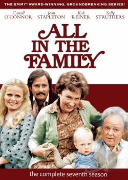 All in the Family - The Complete Seventh Season DVD Cover Art