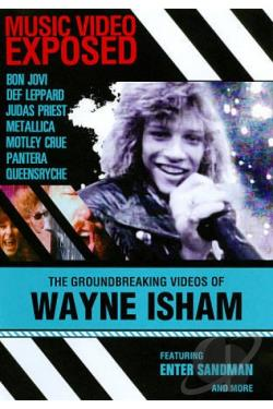 Music Video Exposed: Wayne Isham DVD Cover Art