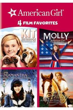 4 Kid Favorites: American Girl DVD Cover Art