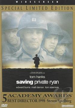 Saving Private Ryan DVD Cover Art