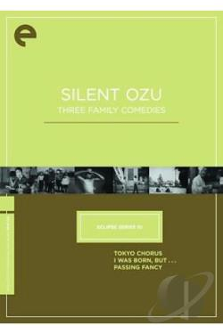 Silent Ozu: Three Family Comedies DVD Cover Art
