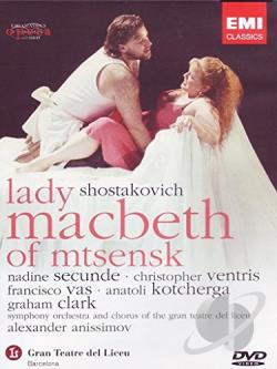 Shostakovich: Lady Macbeth Of Mtsensk DVD Cover Art