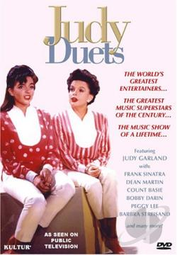 Judy Garland - Judy Duets DVD Cover Art