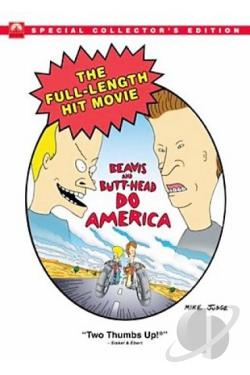 Beavis and Butt-Head Do America DVD Cover Art